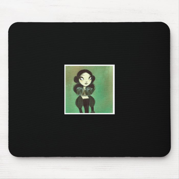 Dark Fairy Tale Character 3 Mouse Pad