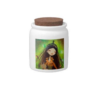 Dark Fairy Tale Character 4 Candy Jars