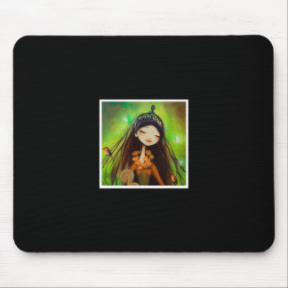 Dark Fairy Tale Character 4 Mouse Pad