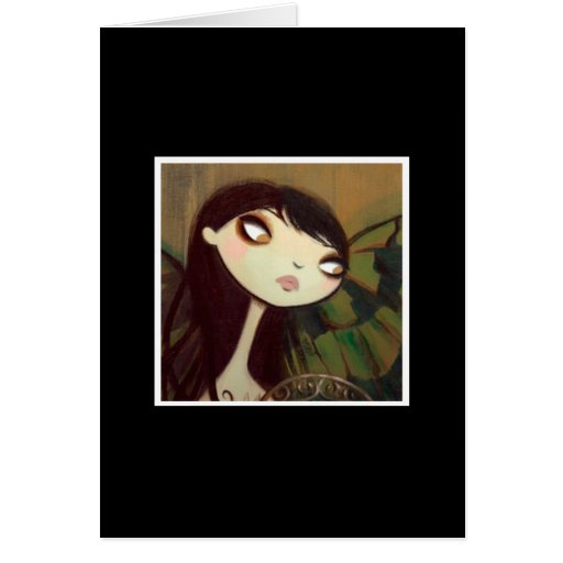 Dark Fairy Tale Character 5 Card