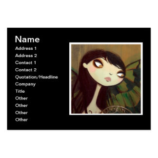 Dark Fairy Tale Character 5 Large Business Card