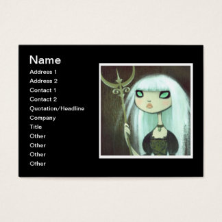 Dark Fairy Tale Character 6 Business Card