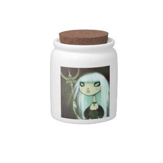 Dark Fairy Tale Character 6 Candy Jar