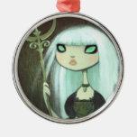 Dark Fairy Tale Character 6 Christmas Ornament