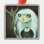 Dark Fairy Tale Character 6 Christmas Ornaments