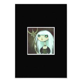 Dark Fairy Tale Character 6 3.5x5 Paper Invitation Card