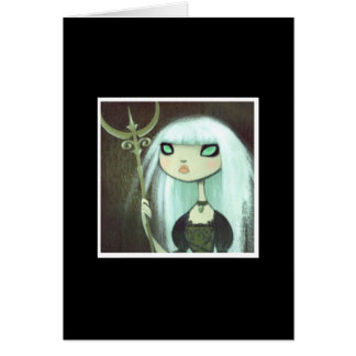 Dark Fairy Tale Character 6 Stationery Note Card