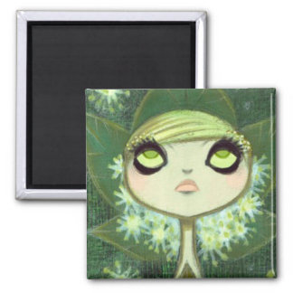 Dark Fairy Tale Character 7 2 Inch Square Magnet