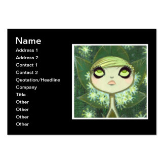 Dark Fairy Tale Character 7 Large Business Cards (Pack Of 100)