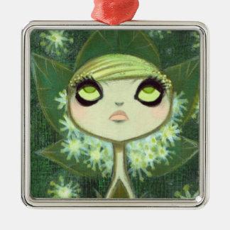 Dark Fairy Tale Character 7 Metal Ornament