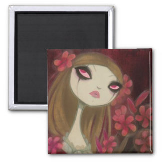 Dark Fairy Tale Character 8 2 Inch Square Magnet