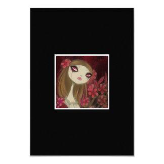 Dark Fairy Tale Character 8 3.5x5 Paper Invitation Card