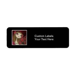 Dark Fairy Tale Character 8 Label