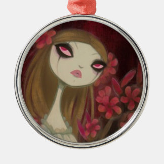Dark Fairy Tale Character 8 Metal Ornament