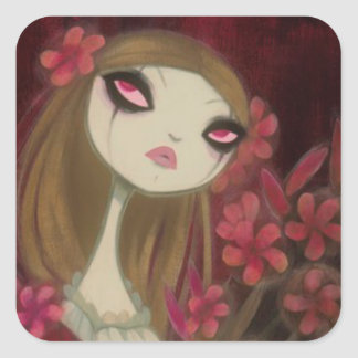 Dark Fairy Tale Character 8 Stickers