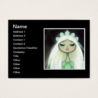 Dark Fairy Tale Character 9 - Sad Princess Business Card