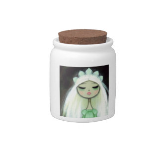 Dark Fairy Tale Character 9 - Sad Princess Candy Jars