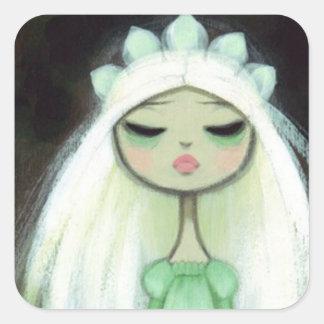 Dark Fairy Tale Character 9 - Sad Princess Sticker