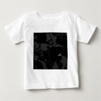 Dark Fall Leaves Baby T-Shirt