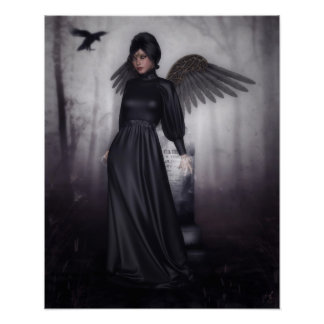 Dark Fallen Angel poster