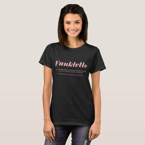 Dark Fanklette _ THE CHEAPER VERSION T_Shirt