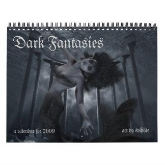 Dark Fantasies Calendars