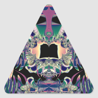 Dark Fantasy Triangle Sticker