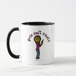Dark Female Sharpshooter Mug