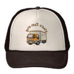 Dark Female Truck Driver Trucker Hats