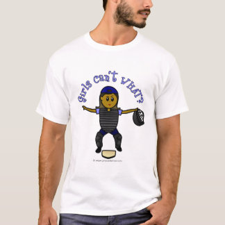 Dark Female Umpire T-Shirt