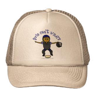 Dark Female Umpire Trucker Hat