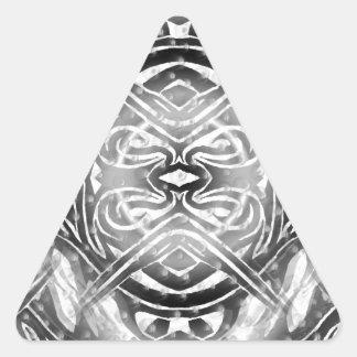 Dark fire n ice triangle sticker