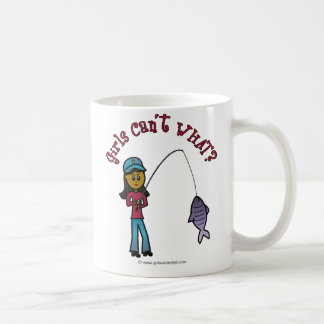 Dark Fishing Girl Coffee Mug