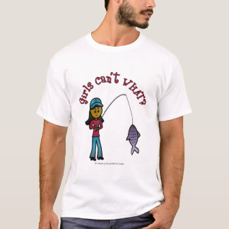 Dark Fishing Girl T-Shirt