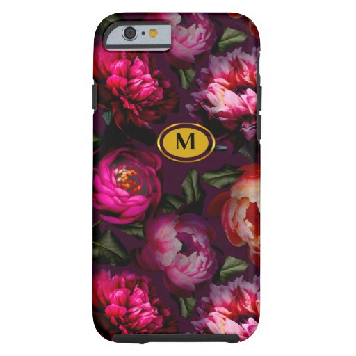 Dark floral dream tough iPhone 6 case