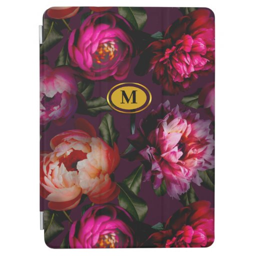 Dark floral dream iPad air cover