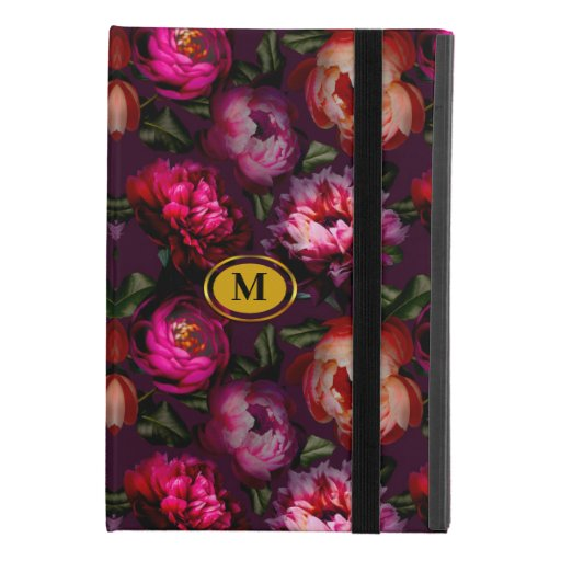 Dark floral dream iPad mini 4 case