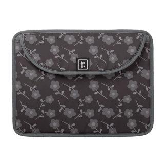 Dark  floral MacBook case