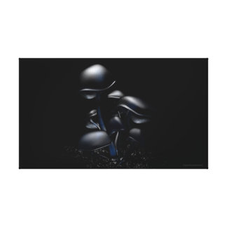 Dark Fluorescence (Say NO to SOPA/PIPA)! Canvas Print