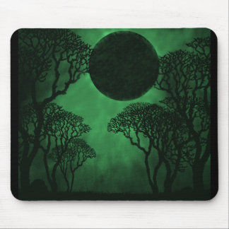 Dark Forest Eclipse Mousepad