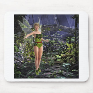 Dark Forest Fairy Mouse Pad