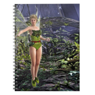 Dark Forest Fairy Notebook