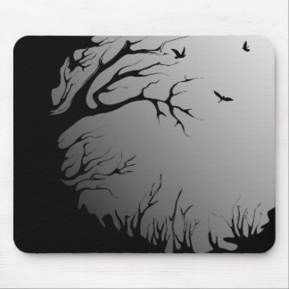 dark forest mouse pad