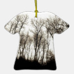 Dark forest ornament