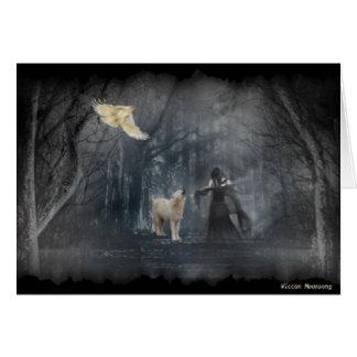 Dark Forest Path Card