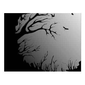 dark forest postcard
