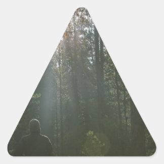 Dark Forest Triangle Sticker