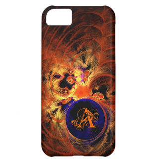 Dark Fractal Monogram iPhone 5C Covers