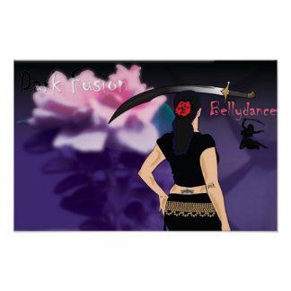 Dark Fusion Belly dance poster