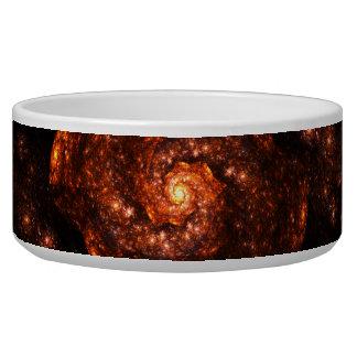 Dark Galaxy Fractal Bowl
